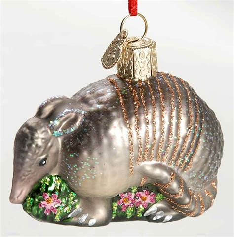 merck family s old world christmas ornament armadillo