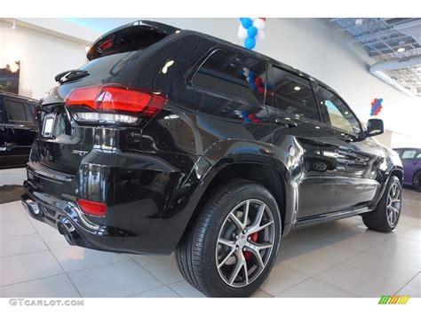 srt jeep 2016 black 2016 brilliant black pearl jeep grand srt