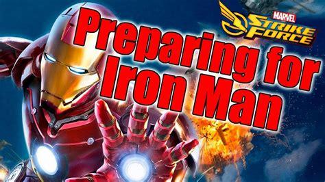 marvel strike force preparing iron man event