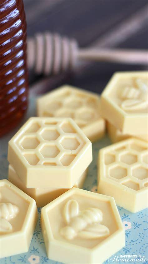 Handmade Recipe - 10 minute diy milk honey soap happiness is