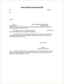 Authorization Letter Format Free Download doc 608792 authority form template authorization for