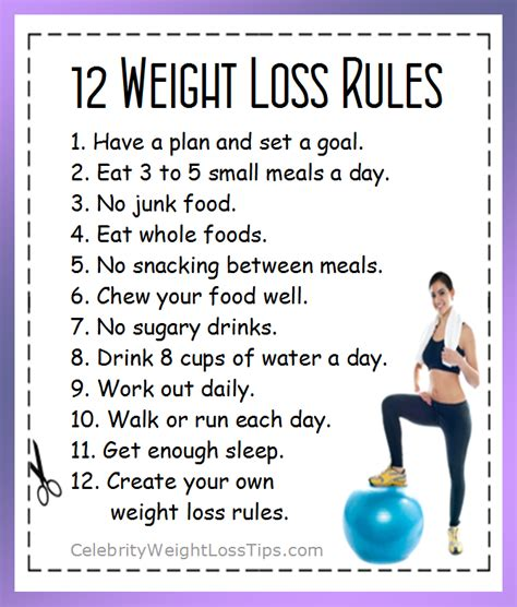 5 weight loss goal 12 weight loss 1 a plan and set a goal 2