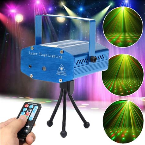 projector lights mini r g auto voice led laser stage light
