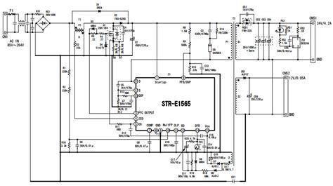Gacun Str Atau Gacun 5 Kabel str e1565 typical application reference design dc to dc single output power supplies arrow