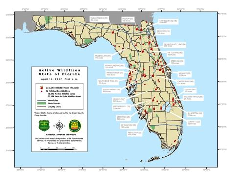 florida wildfires florida wildfires provide big start to 2017 fire season