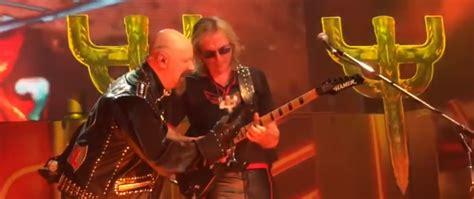 Kaos Musik Kaos Band Judas Priest judas priest joined onstage by glenn tipton at nj show theprp