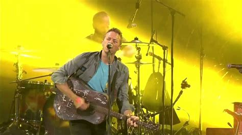 coldplay yellow coldplay yellow unstaged youtube