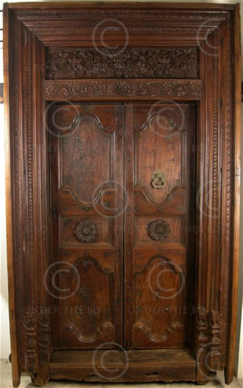 Indian Doors by Indian Door 09gv2 Chettinad South India 19th Century