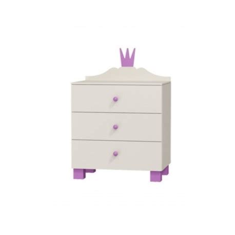 Princess Chest Of Drawers by Princess Range Chest Of 3 Drawers Furniture By Room