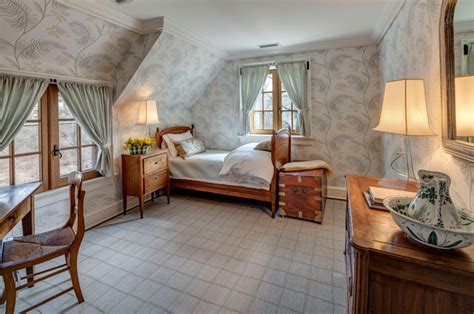 Mid Country French Farm   Farmhouse   Bedroom   New York