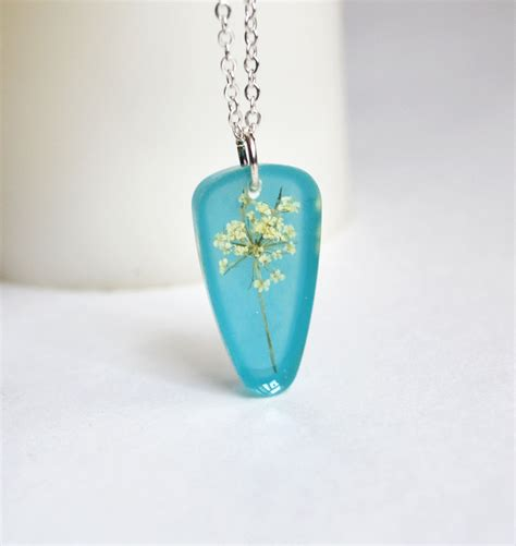 jewelry resin s flower necklace resin jewelry