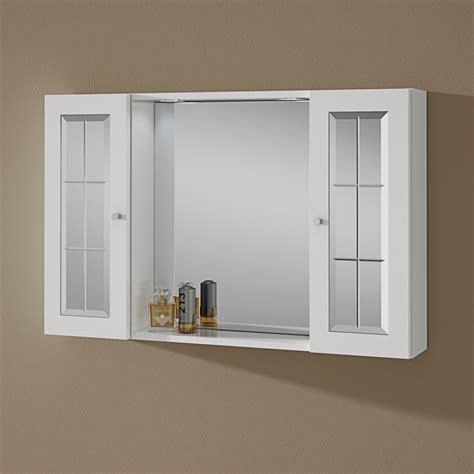 armadietti pensili per bagno specchio bagno contenitore con due pensili e luce kv store
