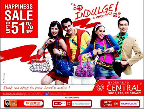 sale get upto 51 discounts on hyderabad central dealshut