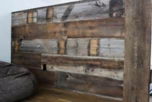 Grange Desk Reclaimed Barn Wood Walls Contemporary Dining Room