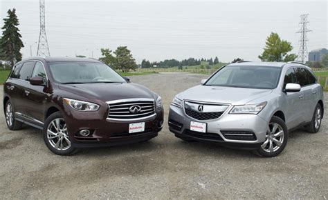 2014 acura mdx vs 2014 infiniti qx60 car reviews