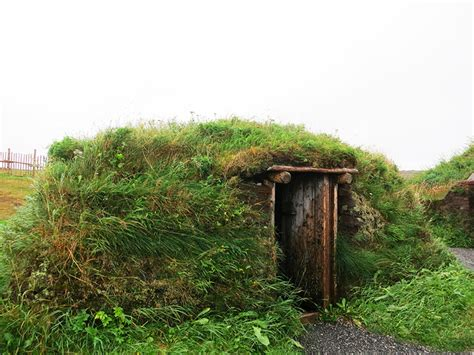 what is a sod house vikings built this amazing green roofed village 1000 years ago grass covered sod