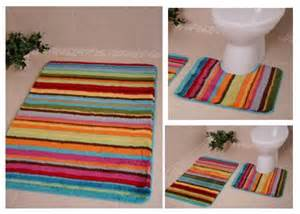 multi colored bath mats bolero bathroom rugs machine washable non slip plain