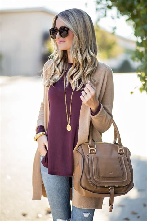 Tan Cardigan   Side Cutout Booties   Blonde Expeditions