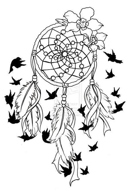 feather dream catcher tattoo stencil all tattoos for men
