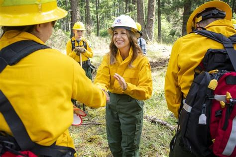 washington dnr chief hilary franz  put firefighting