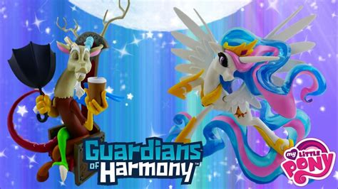 my little pony guardians of harmony fan series discord figure my little pony guardians of harmony discord and princess