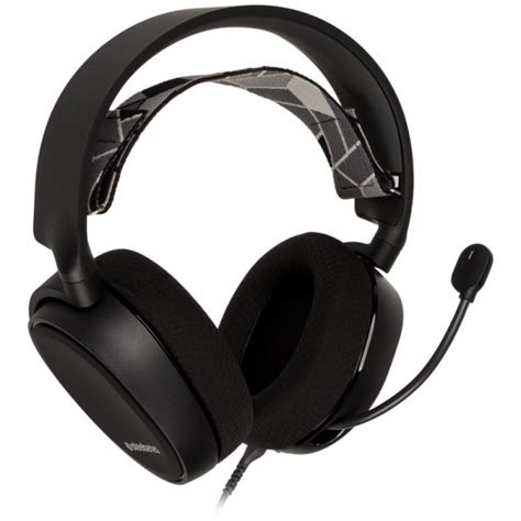 Steelseries Headset Arctis 3 Black steelseries arctis 3 console edition stereo gaming headset