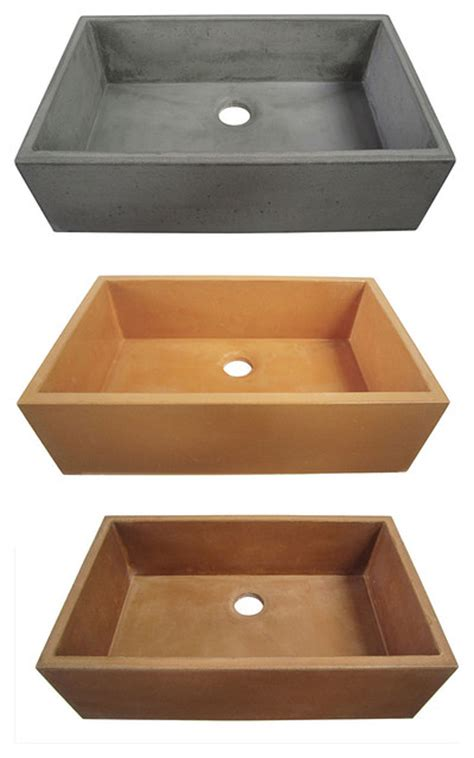 alfi concrete kitchen sinks kitchen sinks new york