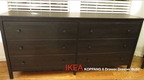ikea 5 drawer dresser koppang ikea koppang dark brown 6 drawer dresser assembly