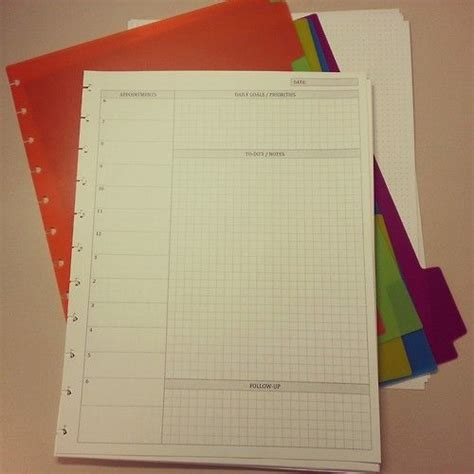 best 25 arc notebook ideas on pinterest planner inserts