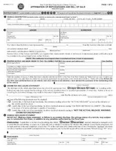 nys will template nys dmv bill of sale fill printable fillable