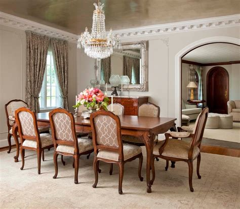 Traditional Dining Room Design by Florentine Dining Room Traditional Dining Room Dallas By Gibson Gimpel Interior Design
