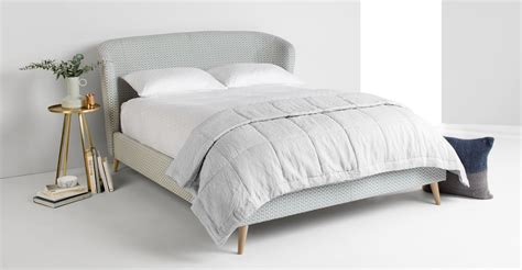 what is a double bed lulu double bed honeycomb weave made com