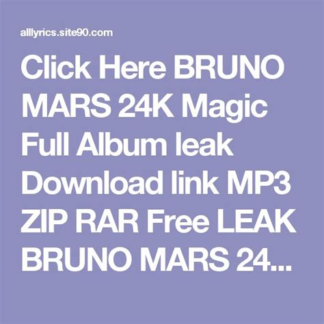 download mp3 bruno mars 24k magic 17 best ideas about bruno mars album on pinterest bruno