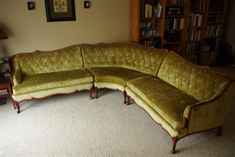 classified ads vintage french provincial sectional bel