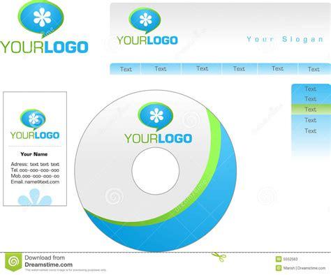 business card and letterhead vector template design of logo letterhead banner heade stock