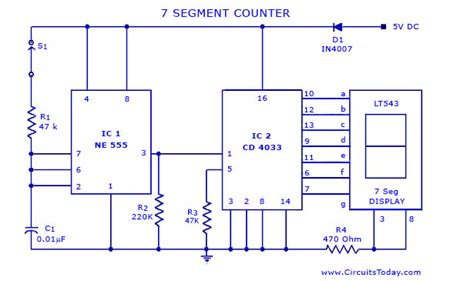 7 segment counter circuit todays circuits engineering