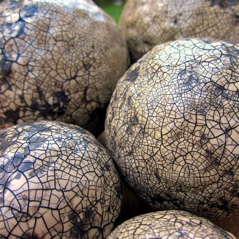 How To Make Paper Mache Balls - decorative accent balls handsculpted crackled paper mache