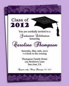 sle of invitation for graduation