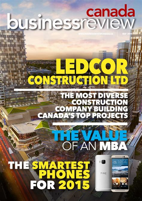 Mba Construction Ltd by Brca May 2015 By Business Review Canada Issuu