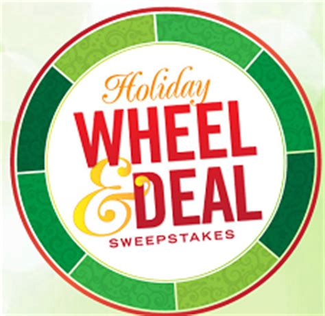 Eprize Sweepstakes - free holiday wheel deal sweepstakes instant win game