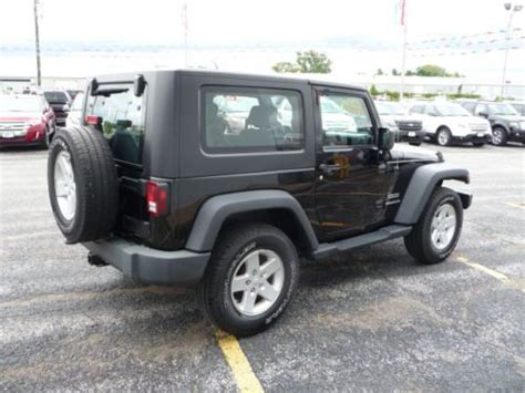2010 Jeep Wrangler Mpg Find Used 2010 Jeep Wrangler Sport 4x4 Top W T Tops