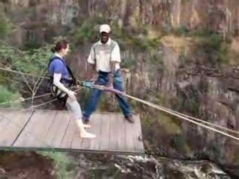 swinging south africa gorge swing victoria falls flavia youtube