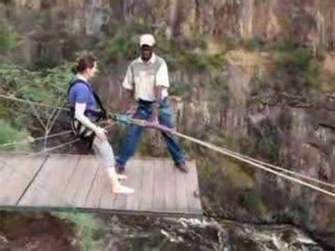 victoria falls swing gorge swing victoria falls flavia youtube