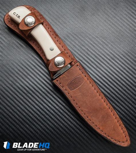 chuck buck knives buck 405 chuck buck signature fixed blade knife ivory