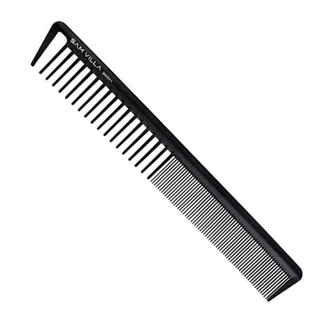 what hair products are best for a comb over sam villa signature series short cutting comb black