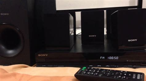radio1 loud and clear with sony home theatre system