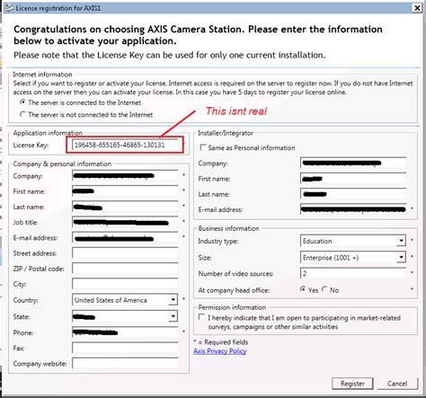 axis station license installing axis station on server 2008 r2