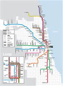Train Line Map Chicago by Cta Real Estate Home