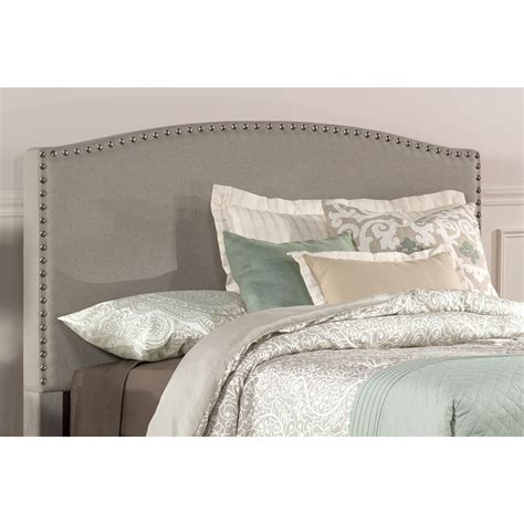 twin fabric headboards kerstein dove gray fabric twin headboard only hillsdale