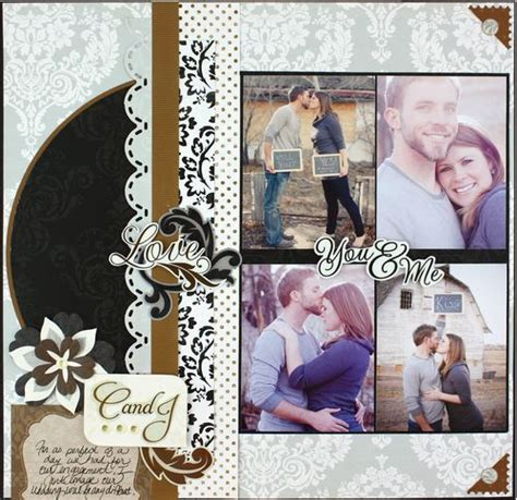 wedding scrapbook layout titles 1000 images about creative memories on pinterest circle